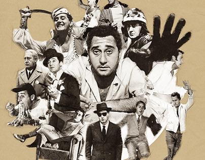 Alberto Sordi 100 - Fan Art