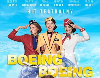 boeing boeing - poster design