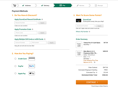 Payment Methods Redesign