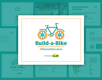 Build-a-Bike - Logo, Pitch Deck, Emailer