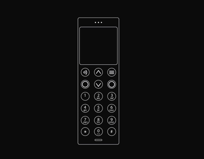 Phone Redesign (inspired by punkt)