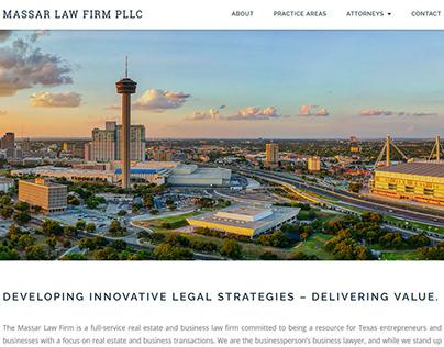 Massar Law Firm Website Re-Design