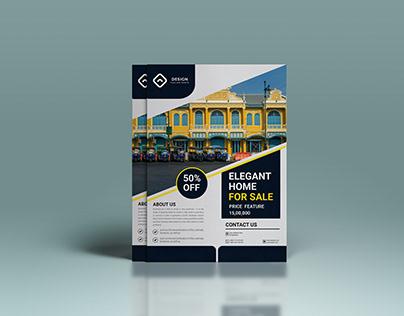 Real Estate Flyer Design [ Free Template ]