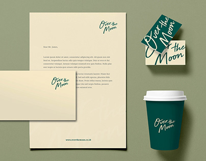 Over The Moon | Brand Identity