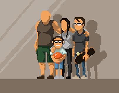Pixel Art Portraits