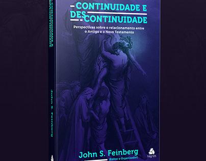 Redesign: Capa de livro Continuidade e Descontinuidade