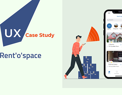 UX Case Study for Rent'o'space Application