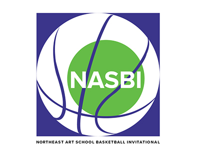 Northeast Art School Basketball Invitational Logo
