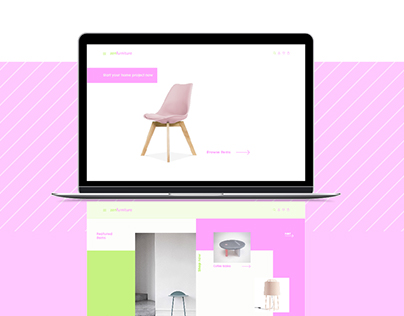 zenfurniture web design