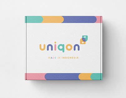 Product Identity Design for UNIQON Kids Bag