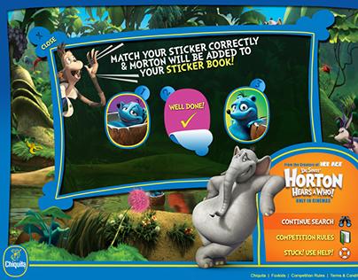 Chiquita and 'Horton Hears a Who' Microsite