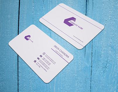 I will do create a modern business card