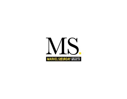 Branding . Marvel Saturday