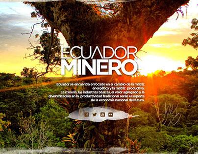 Micrositio ECUADOR MINERO - Enami EP