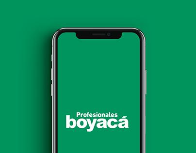 App - Profesionales Boyacá