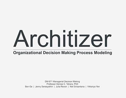 Architizer  |  2016 Q1 Organizational Strategy