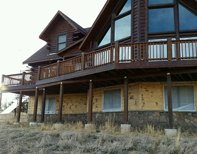 Repair of Log home Colorado
