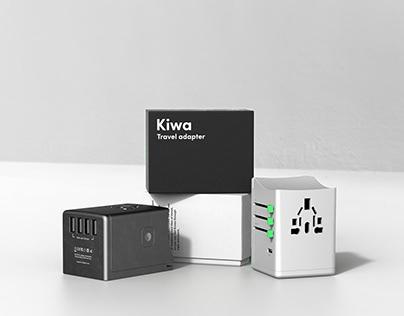 Kiwa - travel adapter