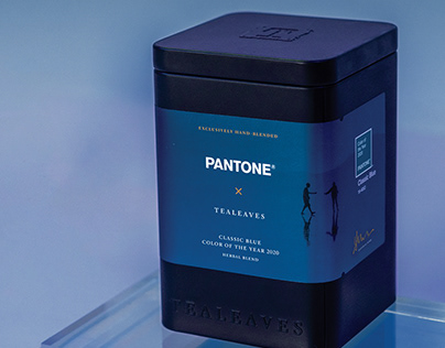 Packaging and Photography: Classic Blue Tea Blend