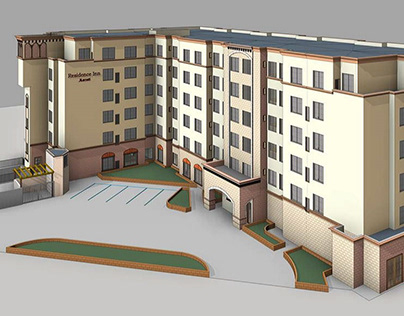 BIM Modeling with LOD 300 for a building in California