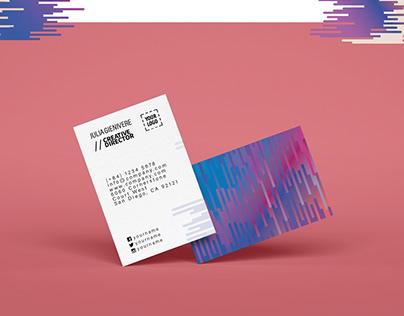 Technology Branding Design Concept