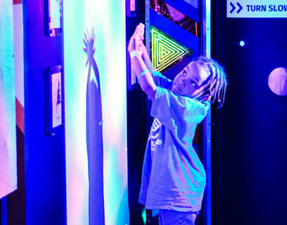 Science Aglow Exhibit- Maryland Science Center