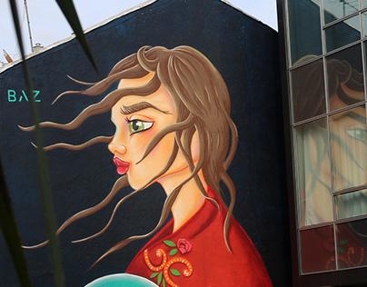 Mural Vigo Cidade de Cor 2020