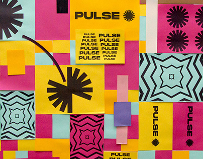 Identidade Visual de Evento - Pulse