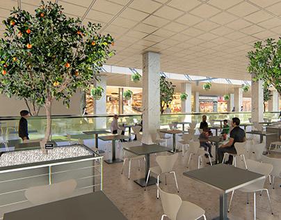 conception paysagère - Anfa place shopping center