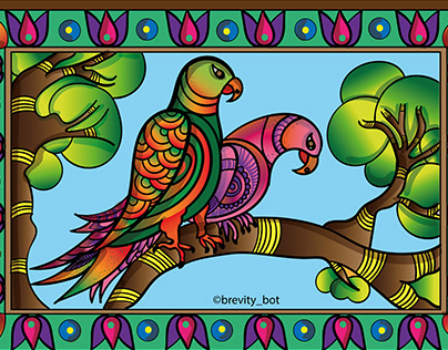 Madhubani Fauna -Animals & Birds Recreated in Madhubani