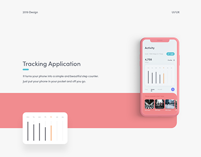 Tracking App | UI Design