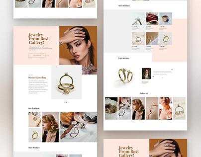 Jewellery web design
