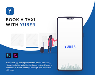 Uber Redesign | Driver Booking | Ride Share Mobile app