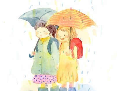 水彩/Watercolor painting (original)
