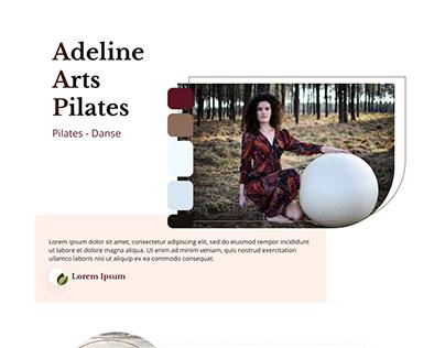 Adeline Arts Pilates - Website design