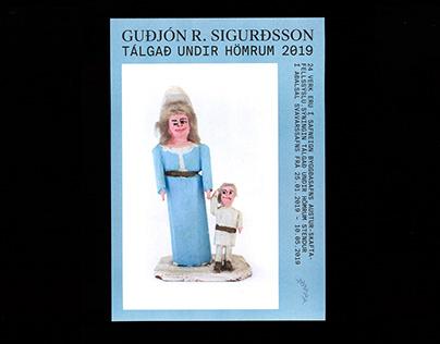 Tálgað undir hömrum/Guðjón R. Sigurðsson.