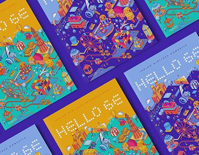 Indigo Airlines Magazine - Cover Design