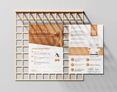 Flyer A5 for Gastifacil