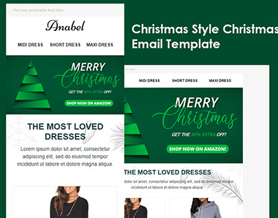 Christmas Style Сhristmas Email Template