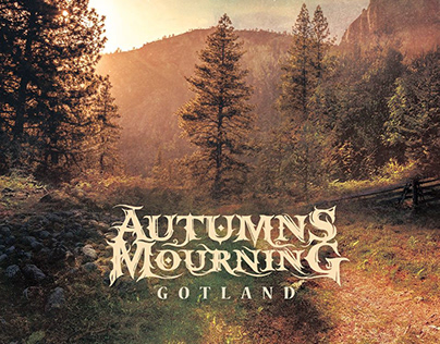 Autumns Mourning | Gotland Album Cover Design