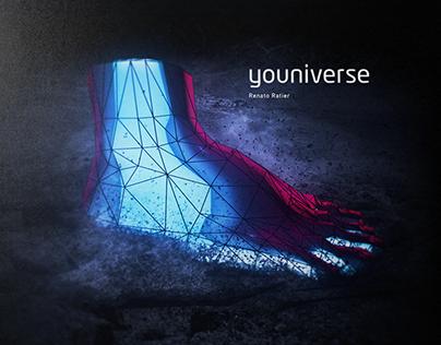 "Renato Ratier ""Youniverse"" Album Artwork"