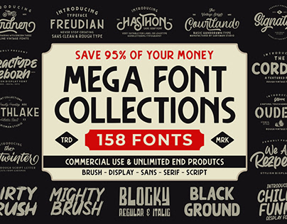 MEGA FONT COLLECTIONS