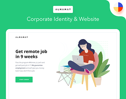 Almamat Corporate Identity & Website
