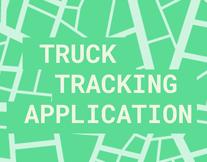 Truck tracking app