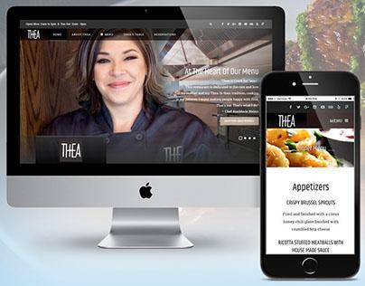 THEA (Restaurant) Website