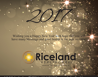 New Year's Ad-Riceland