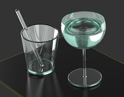 Rendering Glas