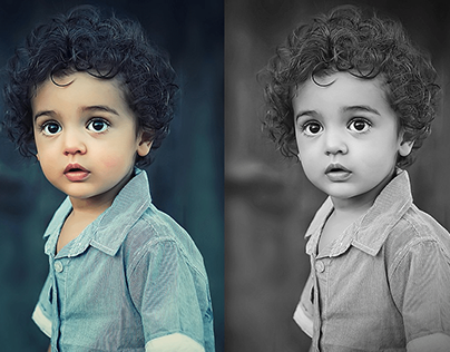 23 Delicate Black and White Photoshop Actions for Your