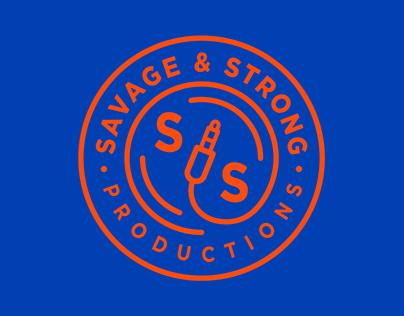 SAVAGE & STRONG | Branding