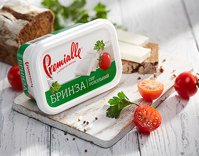 Premialle Cheese. Packaging Redesign